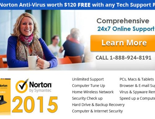 Free Norton Anti-Virus with any Tech Support Plan